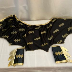 Unbranded Costumes - Batman Toddler Cape and Wrist Wings Costume